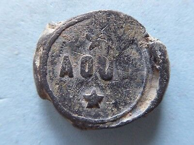 Unknown Lead Token, Seal Check 'aout' ? 22Mm  (578