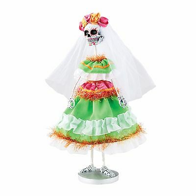 Day Of The Dead Skeleton Figurine Dept 56 Halloween New Monster Holiday
