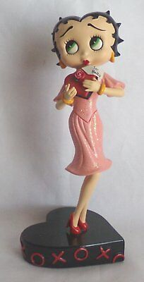"Betty Boop 'Hugs and Kisses' Porcelain Danbury Mint 7"" Figurine"