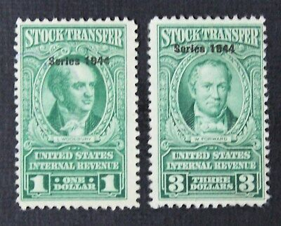 CKStamps:US Revenue Stock Transfer Stamps Collection Scott#RD173 RD175 Unused NG