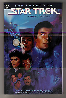 Dc Comics The Best Of Star Trek -- A Collection Of Comics In One Softcover Book