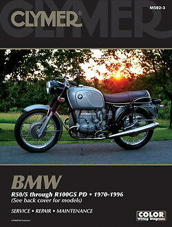 BMW R75 r75/5 r75/6 r75/7 R80 R80G/S R80RT R80ST 1970-1996 Clymer Manual MS502-3