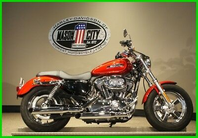 Sportster®  2013 Harley-Davidson XL1200C Sportster 1200 Custom Ember Red WATCH OUR VIDEO!