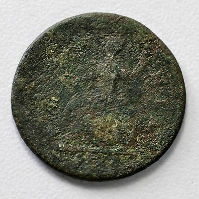 Gb George I Copper Farthing 1721 ++ Colonial - Nice Grade!! ++ [861-04]
