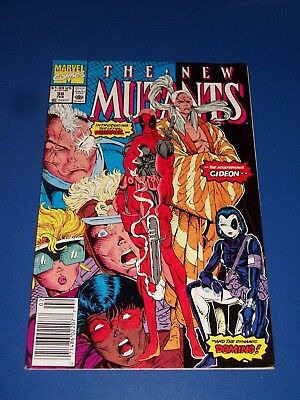 New Mutants #98 1st Deadpool Awesome Huge Key Issue Wow