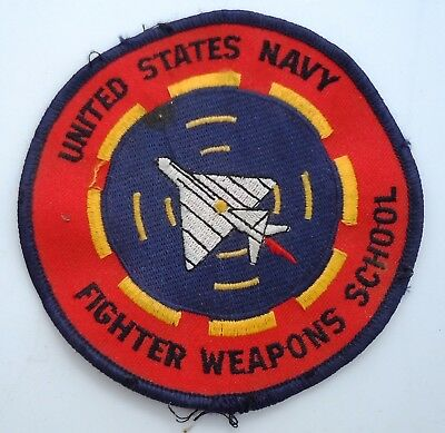 Usaf Military Patch Us Navy Fighter Weapons School