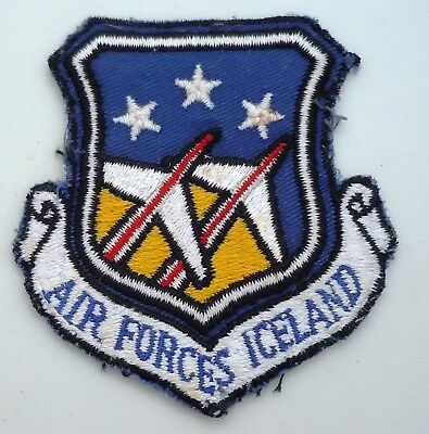 Usaf Military Patch 57Th Fighter Interceptor Squadron Air Forces  Iceland