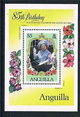 Anguilla 1985 Life & Times Queen Mother MS 658 MNH