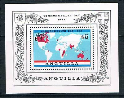 Anguilla 1983 Commonwealth Day MS SG 548 MNH