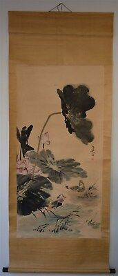 Magnificent Large Chinese Painting Signed Master Wang Xuetao No Reserve S9999