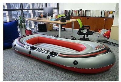 3-4 Person Red Water-proof Length 295CM Width 140CM Inflatable Boat *