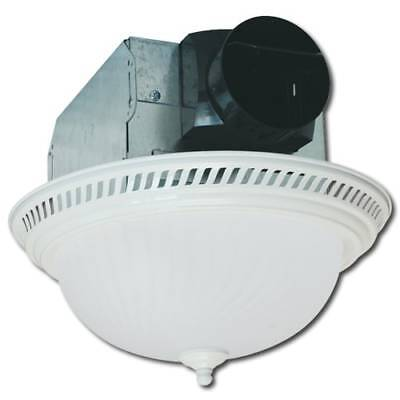 Air King AKLC703 70 CFM Quiet Round Decorative Exhaust Fan Series with Light