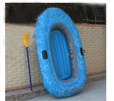 2 Person Water-proof Blue Length 190CM Width 110CM Inflatable Boat *