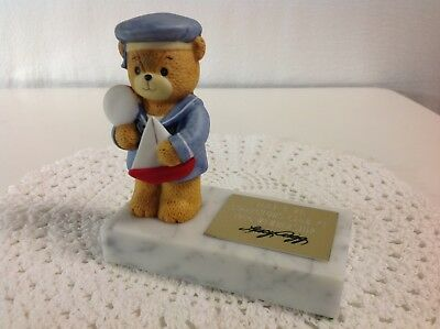 """Lucy And Me """"1St Lucy Club Bear Of Year"""" In 1986 Members Only Lucy Rigg Enesco"""