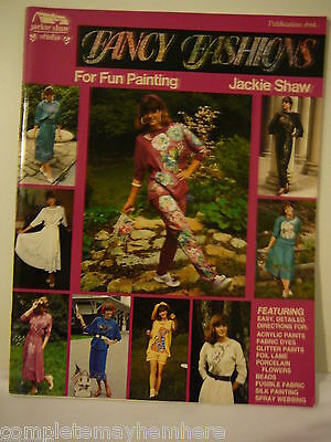 Fancy Fashions for Fun Painting by Jackie Shaw Studio Publication #64