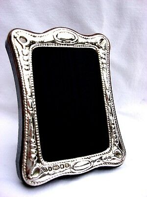 Lovely Finest 999 Quality Hallmarked Silver London & Britannia Photograph Frame.