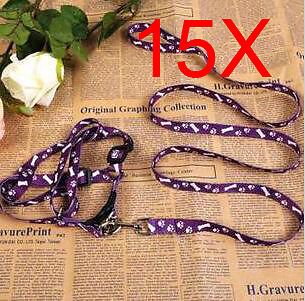 Practical Bust 26*40 CM Wide 0.8 CM Purple PP Leash 2 PCS Wholesale Lots 15 PCS