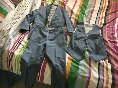 Boys 3 Piece Suit Autograph Marks and Spencer 11 To 12 Years