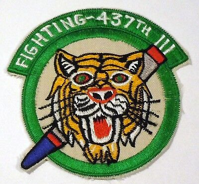 USAF MILITARY PATCH ADC 437TH FIGHTER INTERCEPTOR SQUADRON far east made COPY