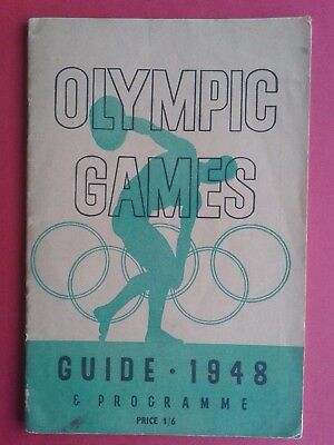Olympic Games  -  Guide / Programme  1948