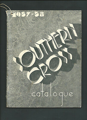 SOUTHER CROSS 1937-38 MACHINERY CATALOGUE 98 pages