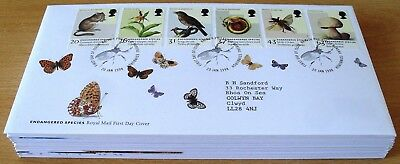 1998 - 2000  Job Lot Of 27 First Day Covers   As Shown Below  (4981)