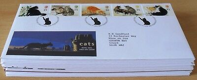 1995 - 1997  Job Lot Of 31 First Day Covers   As Shown Below  (4982)