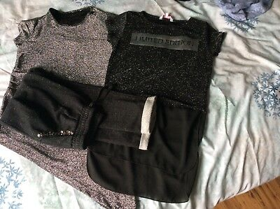 Girls sparkly christmas outfit age 8-9
