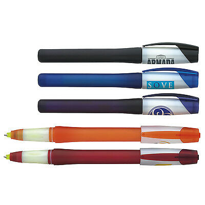 100 Twist Combo Pen Highlighters Personalized Promotional Cheap Marketing Office