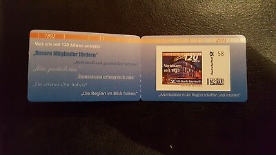 Portocard Individuell  120 Jahre VR-Bank Bayreuth