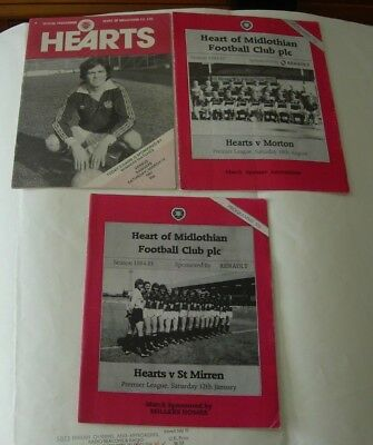 Three Hearts programmes, 1980s