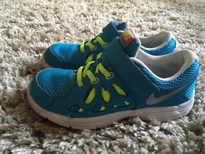 Nike Blue/ Yellow Trainers Size 1