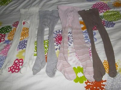 ♥ lot de 4 collants 23 / 26 soit  4 - 5 ans environ  ☼