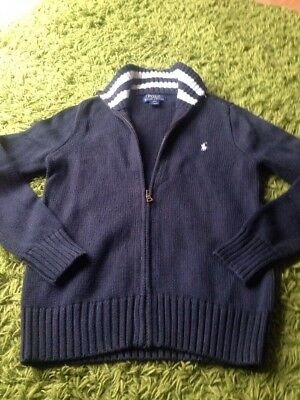 Boys Ralph Lauren Cardigan Aged 10/12 Years