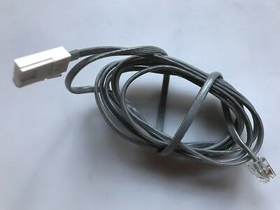 PQJA87S (UK) Panasonic Home Office Telephone Line Cord with Plug +KX-TCD820E