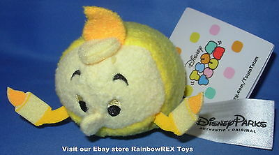 """Disney Parks LUMIERE From Beauty And The Beast Tsum Tsum Plush Mini 3.5"""""""