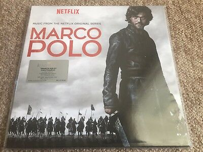 Marco Polo - Original Soundtrack - Limited Numbered Coloured Dbl Vinyl Lp - New