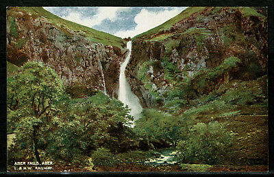 Early London & North Western Railway Postcard - Aber Falls - Snowdonia Wales