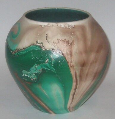 Vintage GARDEN of The GODS Pottery BEAUTIFULLY Glazed PLANTER Vase COLORADO