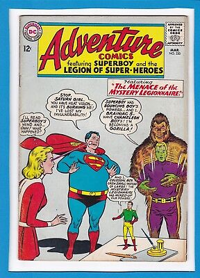 Adventure Comics #330_March 1965_Very Good+_Superboy_The Legion Of Super-Heroes!