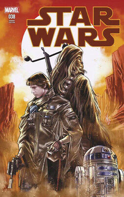 STAR WARS #38 CHECCHETTO EXCLUSIVE VARIANT COVER Marvel 1st Print New & NM