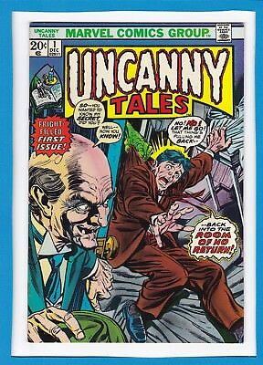 Uncanny Tales #1_December 1973_Very Fine/near Mint_Fright Filled First Issue!