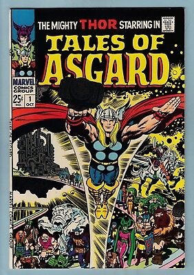 Tales Of Asgard # 1 Nm- (9.2)  Lovely High Grade Thor- Giant- Kirby- Cents- 1968