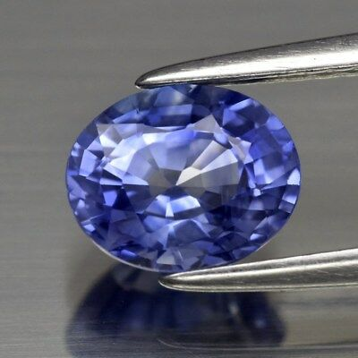 VVS Clean! 1.45ct 7x5.8mm Oval Natural Blue Sapphire Ceylon, Heated Only