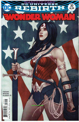 Wonder Woman #30 Variant Cover Jenny Frison Dc Comic Book Rebirth New 1