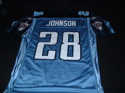 Tennessee Titans USA United States NFL American Football Medium Mans Johnson Top