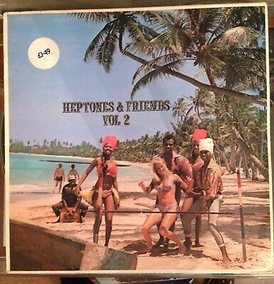 Various Artists orig UK LP Heptones & Friends Vol. 2