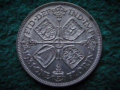Better grade . George V , Silver Florin 1931 , Nice coin ................... W11
