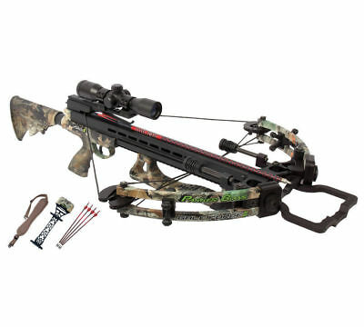NEW Parker Gale Force Crossbow with Illuminated Scope Package - X116-IR 350fps