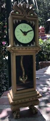 New Disney Parks Exclusive The Haunted Mansion Working Grandfather 13 Hour Clock